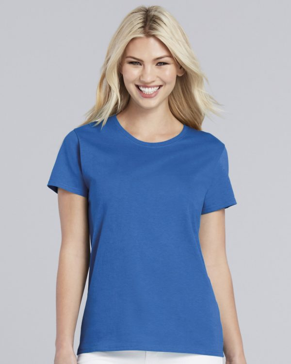 ladies t shirt cobalt