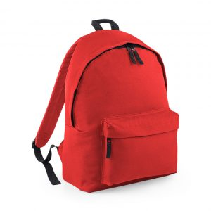 red rucksack